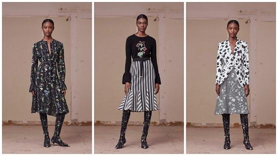 عدد من تصميمات أزياء دار