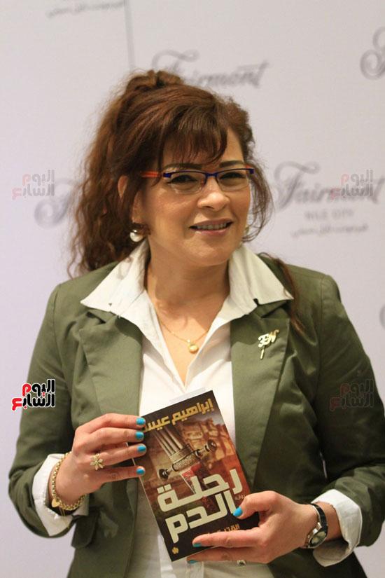 حفل توقيع رواية رحلة الدم للكاتب والإعلامى إبراهيم عيسى (53)