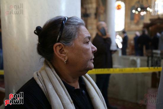 اثار تفجير الكنيسة المرقسية (10)