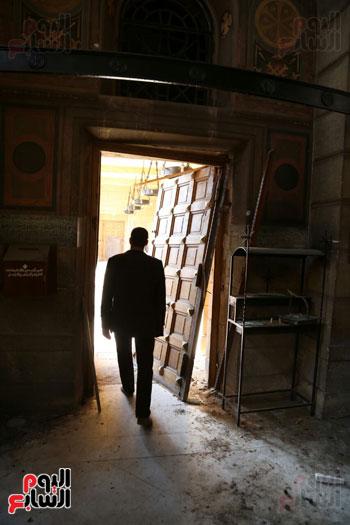 اثار تفجير الكنيسة المرقسية (15)