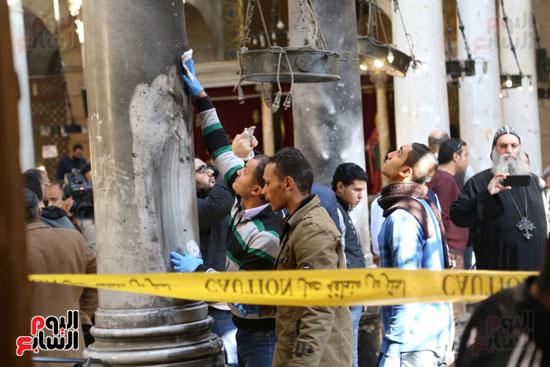 اثار تفجير الكنيسة المرقسية (5)