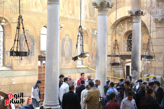 اثار تفجير الكنيسة المرقسية (13)