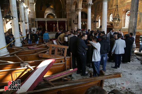اثار تفجير الكنيسة المرقسية (11)