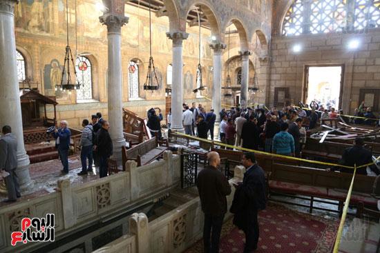 اثار تفجير الكنيسة المرقسية (12)