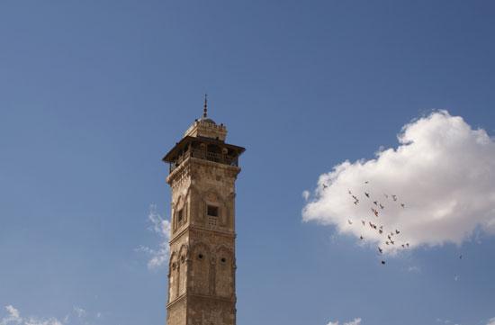 مئذنة المسجد الأموي