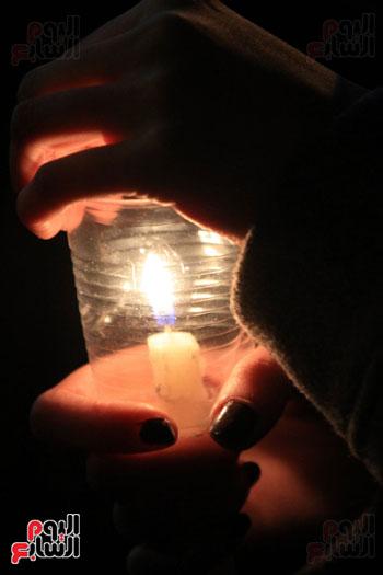 وقفة بالشموع لشهداء البطرسية (4)