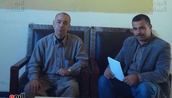الجيولوجى محمد احمد موسى ، مدير فرع معهد بحوث الموارد المائية بشمال سيناء