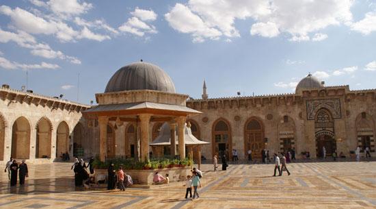 المسجد قبل الدمار