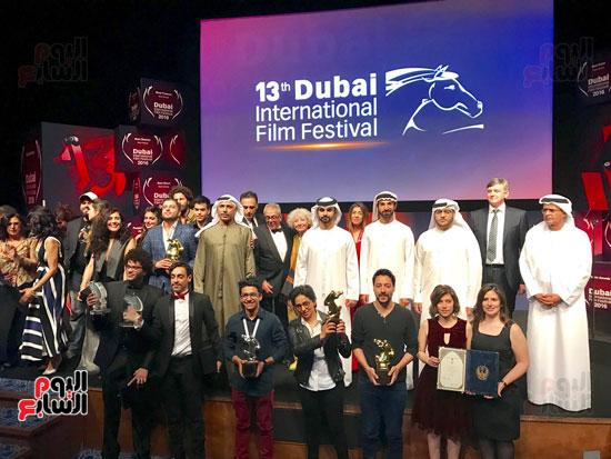 الفائزين بجوائز المهرجان
