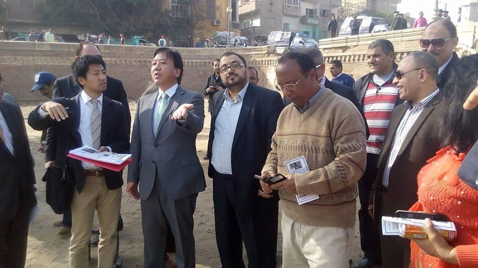 اعضاء مجلس النواب يرافقون السفير الياباني