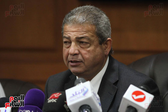 وزير الرياضة يكرم ابطال الاسكواش (10)