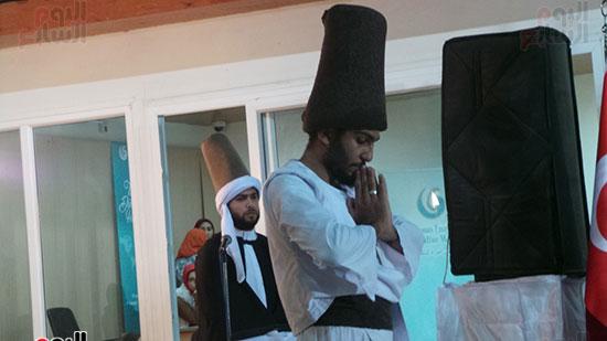 رقص المولوية بمعهد يونس إمرة بالإسكندرية
