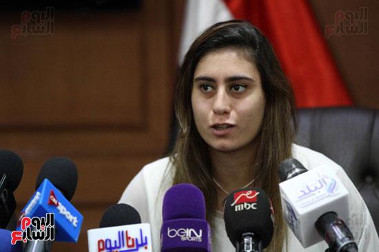 وزير الرياضة يكرم ابطال الاسكواش (12)