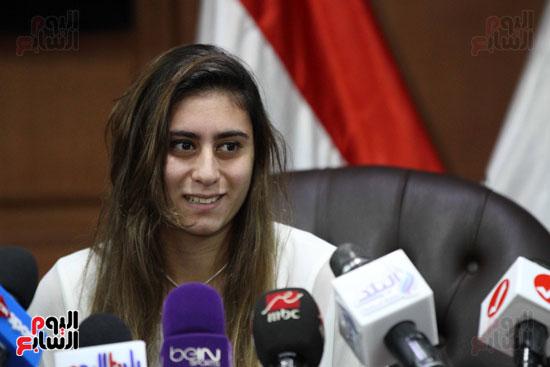 وزير الرياضة يكرم ابطال الاسكواش (13)