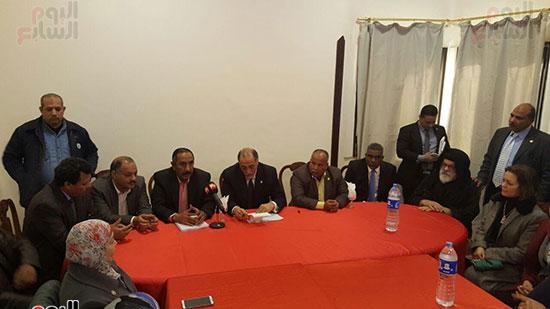 وفد لجنة التضامن بمجلس النواب بمدينة غارب