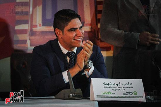أبو هشيمة و3 وزراء ومحافظ أسوان يفتتحون إعادة إعمار قرية توشكى (29)