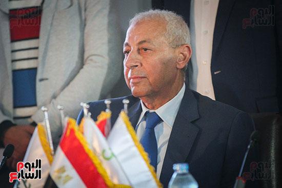 أبو هشيمة و3 وزراء ومحافظ أسوان يفتتحون إعادة إعمار قرية توشكى (31)