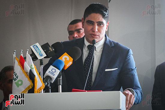 أبو هشيمة و3 وزراء ومحافظ أسوان يفتتحون إعادة إعمار قرية توشكى (42)