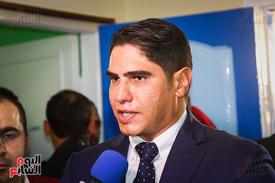 أبو هشيمة و3 وزراء ومحافظ أسوان يفتتحون إعادة إعمار قرية توشكى (15)
