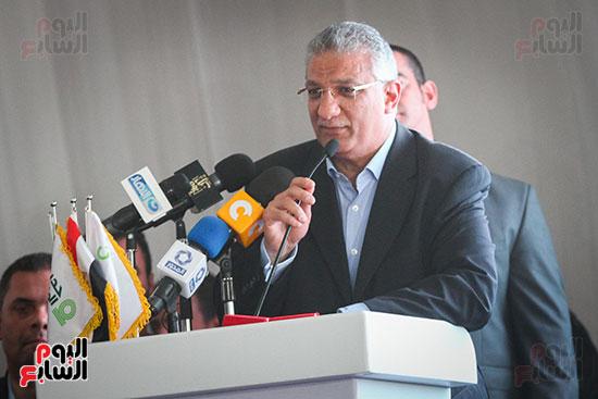 أبو هشيمة و3 وزراء ومحافظ أسوان يفتتحون إعادة إعمار قرية توشكى (30)