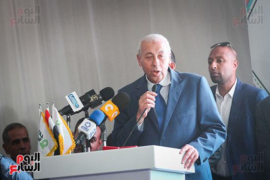 أبو هشيمة و3 وزراء ومحافظ أسوان يفتتحون إعادة إعمار قرية توشكى (33)