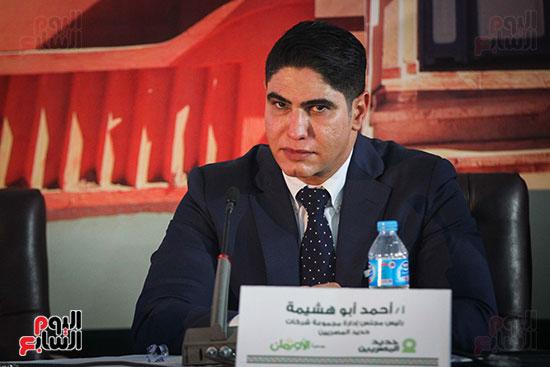 أبو هشيمة و3 وزراء ومحافظ أسوان يفتتحون إعادة إعمار قرية توشكى (32)