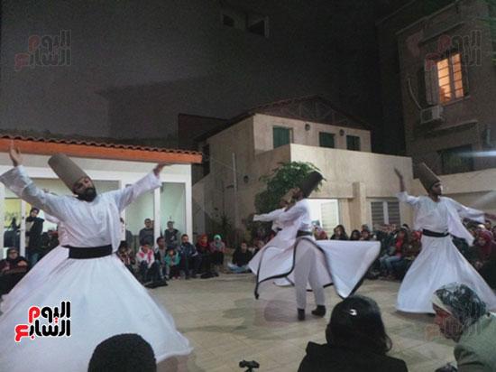 استعراض فرقة مولاى لرقصة المولوية