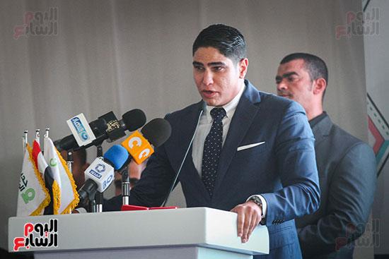أبو هشيمة و3 وزراء ومحافظ أسوان يفتتحون إعادة إعمار قرية توشكى (40)