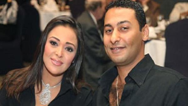 داليا البحيرى وزوجها السابق فريد المرشدى