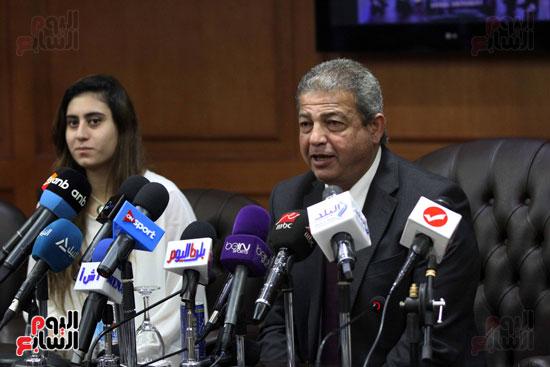 وزير الرياضة يكرم ابطال الاسكواش (9)