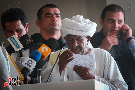 أبو هشيمة و3 وزراء ومحافظ أسوان يفتتحون إعادة إعمار قرية توشكى (26)