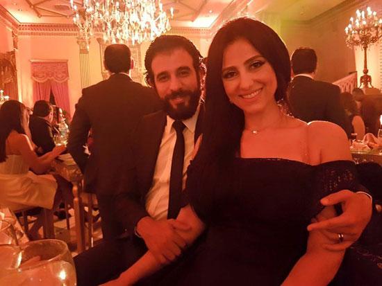 حنان مطاوع مع زوجها المخرج أمير اليمانى