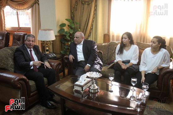 وزير الرياضة يكرم ابطال الاسكواش (7)