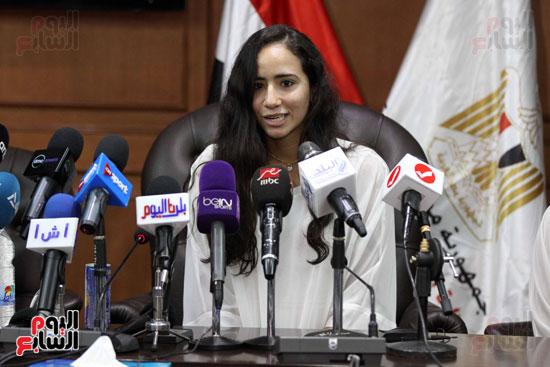 وزير الرياضة يكرم ابطال الاسكواش (15)