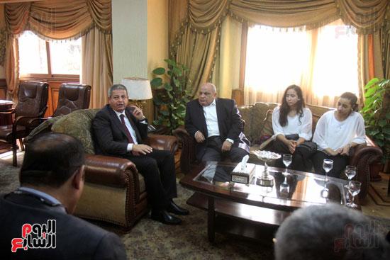 وزير الرياضة يكرم ابطال الاسكواش (3)