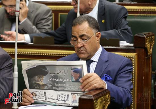 النائب إلهامي عجينة بمجلس النواب