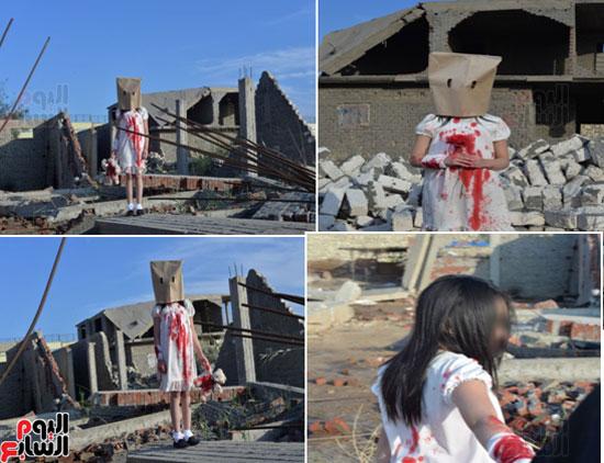 اتجار بطفلة لتصوير مشاهد مفبركة (1)