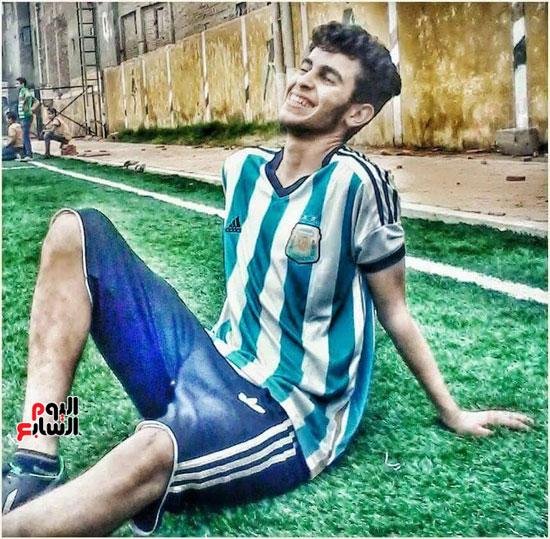محمد زغلول الذى قتل أمام مركز الشباب