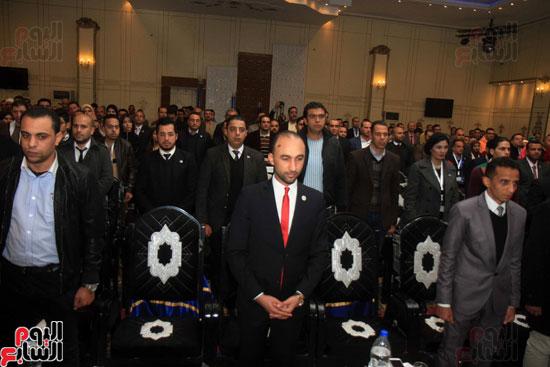 السيد حازم عمر والنائبة سعاد المصرى والدكتوره شيماء عبد الإله