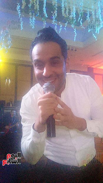 رامي جمال يحي أولى فقرات الحفل