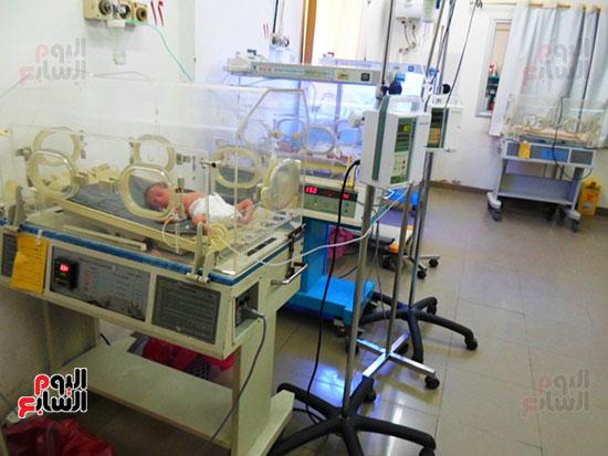 احد الحضانات بمستشفى بالمنوفية