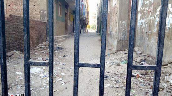 أحد شوارع قرية الزيدية