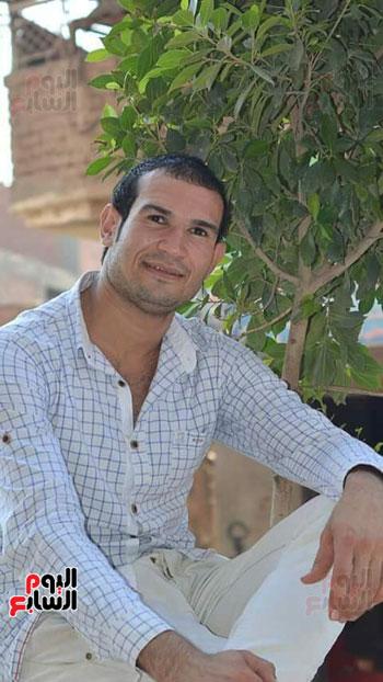 أحمد صبحى من عائلة الزيدى أحد الضحايا