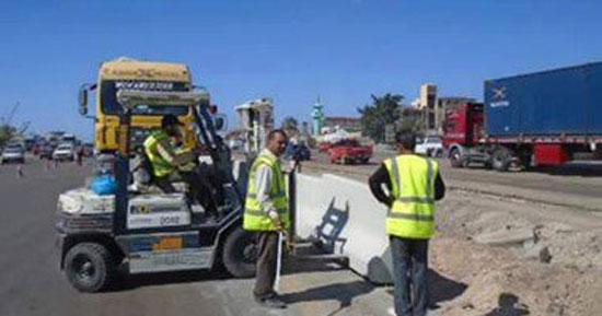 المرور-إغلاق-جزئى-لكوبرى-أكتوبر-3-أيام-لإصلاح-الفواصل-المعدنية