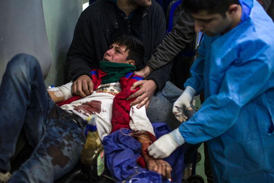 قتلى وجرحى فى تفجيرات انتحارية لداعش بمدينة الموصل العراقية