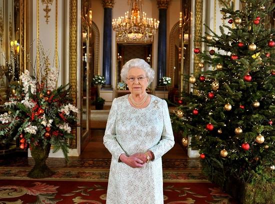 الكريسماس فى القصر الملكى