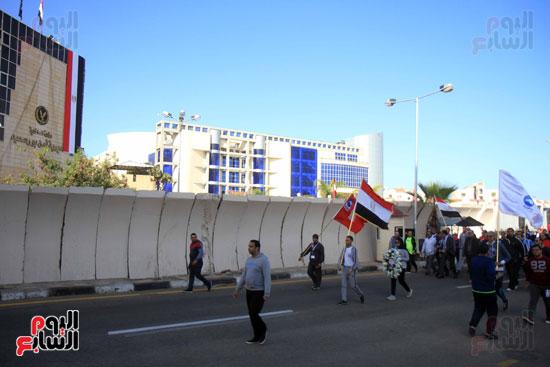 مارثون رياضي في بورسعيد (7)