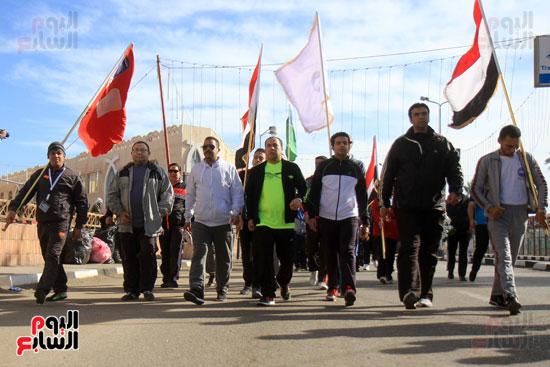 مارثون رياضي في بورسعيد (4)