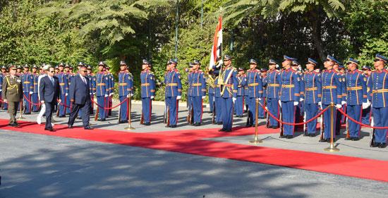 الرئيس عبد الفتاح السيسي، وإسماعيل عُمر جيلة رئيس جيبوتى (14)