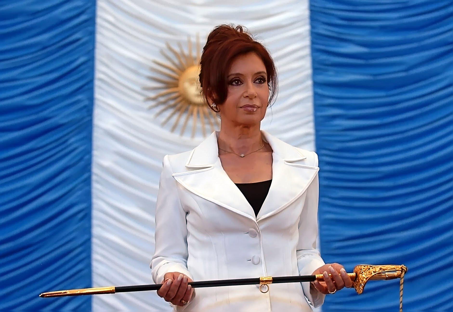 رئيسة الارجنتين السابقة كريستينا كيرشنر